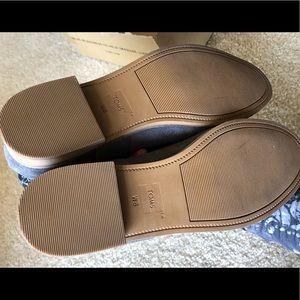 """Toms Shoes - Toms """"Laurel"""" Grey Suede Tribal  booties"""